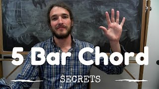 Video 5 Ways to Take the Pain Out of Barre Chords MP3, 3GP, MP4, WEBM, AVI, FLV Agustus 2018