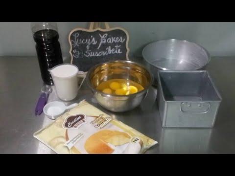 Cómo modificar queque de vainilla pre mezcla