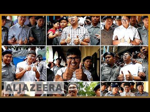 🇲🇲Calls for Reuters journalists' release on anniversary of arrests | Al Jazeera English