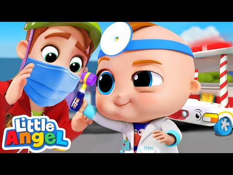 Dr Baby John Check-Up | Nursery Rhymes and Kid Songs by Little Angel