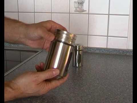 Gewürzstreuer Edelstahl - Einsatz in der Küche & Haushalt