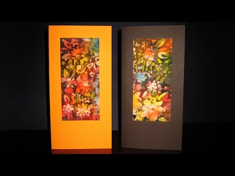 How To Make Batik Greeting Cards? | IOTN