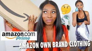 Video TRYING £1000 WORTH OF CLOTHING FROM AMAZONS NEW CLOTHING BRAND, 'FIND' SIS IS CONFUSED DOE? MP3, 3GP, MP4, WEBM, AVI, FLV Desember 2018