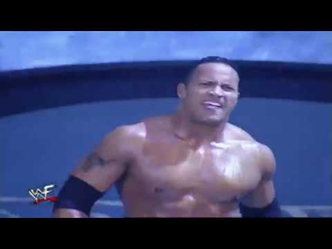 Eddie Guerrero/Chyna & The Rock vs Chris Benoit/Edge & Christian WWE Smackdown july 13 2000