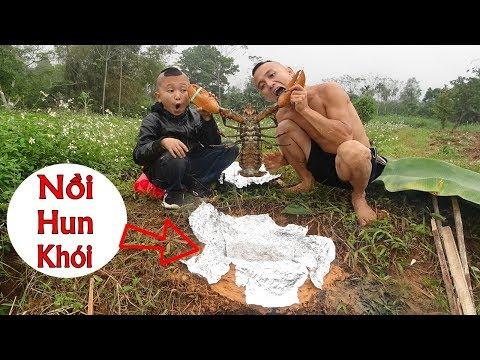 Tôm Hùn Hun Khói Cô Ca - Liệu Có Thành Công Với Nồi Đất Tự Chế Cực Ngầu ?? - Thời lượng: 34:24.