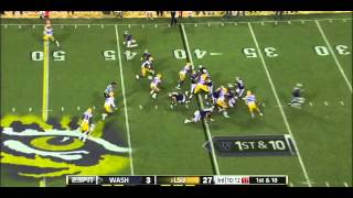 Kevin Minter vs Washington (2012)