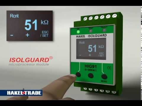 HIG 91 Insulation monitoring device fault signalization