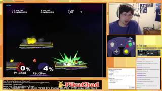 Pikachu's up air hitboxes explained by Pikachad