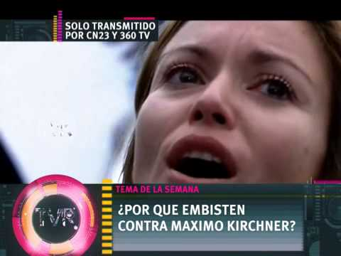 DE - Informe: Tema de la Semana: ¿Por que embisten contra Maximo Kirchner? - 20 -09-14 Mirá todos nuestros informes acá: https://www.youtube.com/user/informesTVR Seguinos en Facebook: https://www...