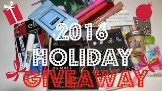2016 Holiday Giveaway (CLOSED)