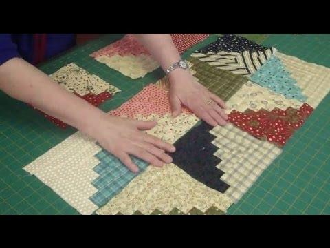 ecco un nuovissimo blocco in patchwork