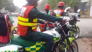 First Responder Bike Ambulance