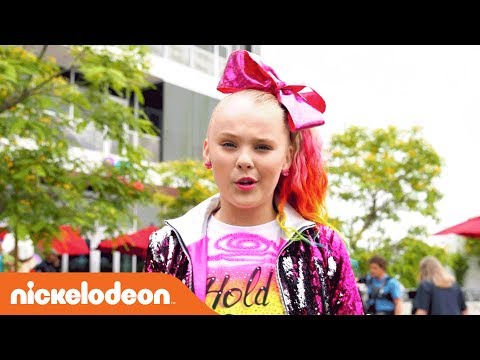 JoJo Siwa | BTS of the 'Hold the Drama' Official Music Video | Nick
