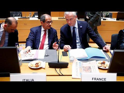 Eurogroup: Τελεσίγραφο στην Ιταλία