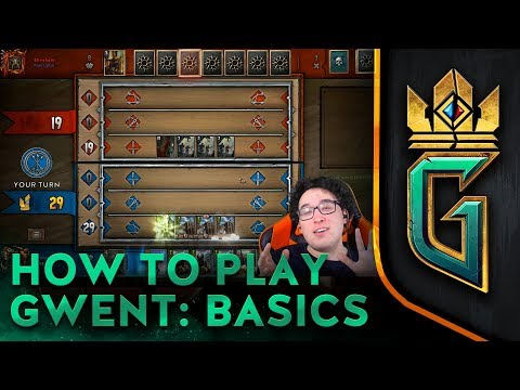 GWENT: The Witcher Card Game | How to Play GWENT: Basics (видео)