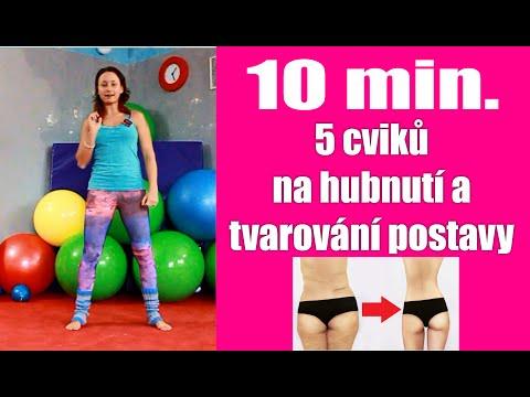 10 minut - 5 cviků na hubnutí a tvarování postavy