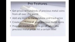 Precious Metals Prices Free YouTube video