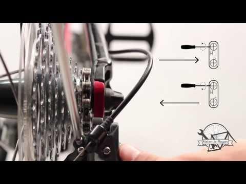 comment regler les vitesse d'un velo
