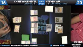 SCGKC - Legacy - Round 5 - Chris Wolfmeyer Vs Steven Wu [Magic: The Gathering]