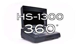 【360 Product Video】HS-1300 6-Channel HD Portable Video Streaming Studio