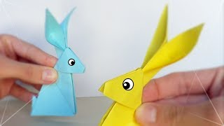 Conejito de Papel - Origami - YouTube