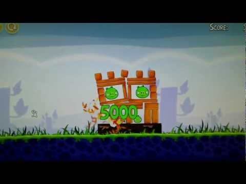 Angry Birds on HP TouchSmart Elite 7320 All-in-One