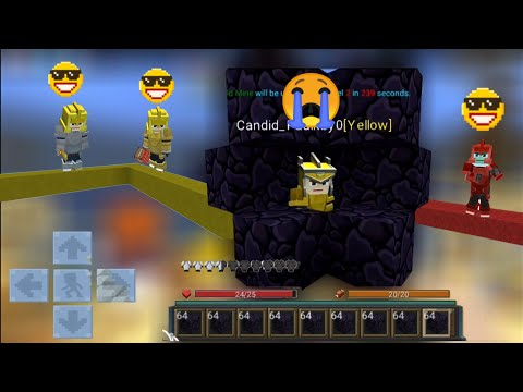 Noobs VS STRONGEST TRAP Trolling 😂😂Bedwars Funny Moments (Blockman GO Blocky Mods)