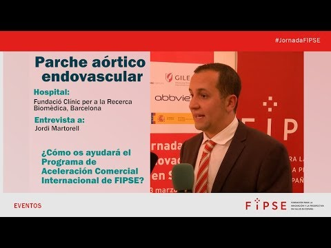 Parche aórtico endovascular - Programa de ACI-FIPSE 2018