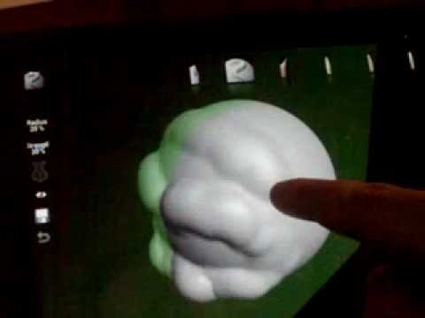 Video of TrueSculpt Virtual Sculpture