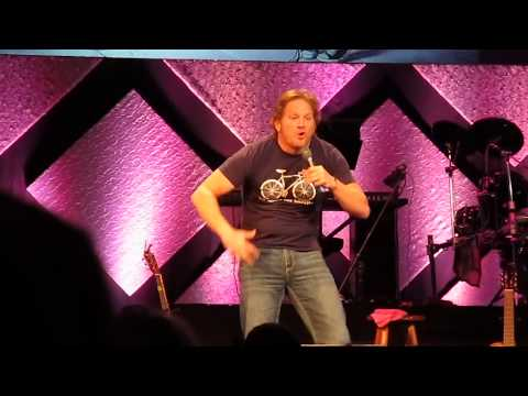 Comedian Tim Hawkins gets heckled by a two year old