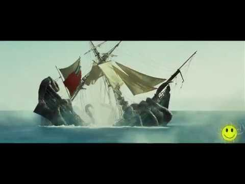 Kraken Scene- Pirates of Caribbean (The Sea Creature) 1080 HD