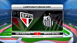 Acompanhe aqui no canal Curtindo Games Adoidado , o clássico entre São Paulo x Santos, no game Pro Evolution Soccer 2017 ( Pes 17 ), jogado no Morumbi ...
