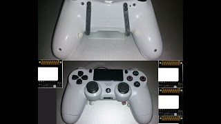 PS4 EZ Remap board + PADDLES, DIY GAMER TUTORIAL BUILD YOUR OWN PLAYSTATION 4 Scuf style Controller