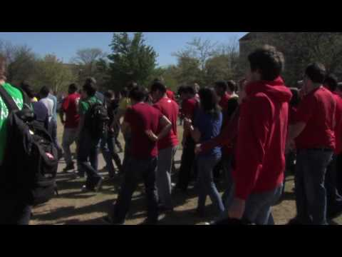mp3experimenttour - Improv Everywhere brings its crazy brand of chaos and joy to Texas Tech as students take over Memorial Circle. They took part in the MP3 Experiment Tour . Re...