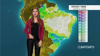 O trigo teve prejuízos no estado do Paraná por causa da estiagem das últimas semanas. Confira como fica o acumulado de chuva para todo o Brasil nos próximos dias.