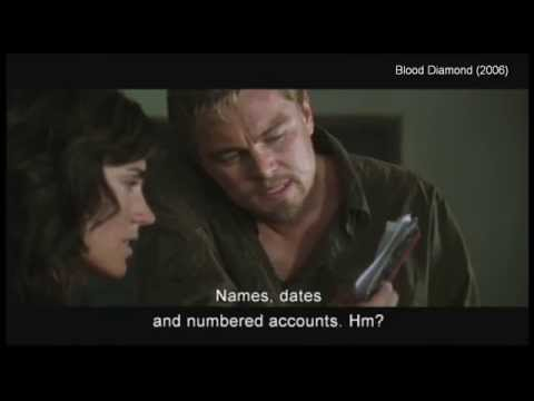 "【SPOILER】clip12 ""...if they knew it costs someone else their hand""-Blood Diamond (2006)"