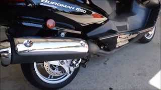 10. Used 2009 Suzuki Burgman 650 Executive Scooter For Sale / Chattanooga TN GA AL