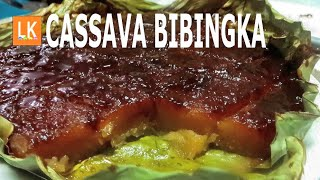 BIBINGKANG CASSAVA (4 ingredients only)