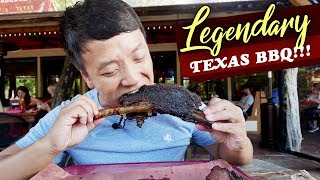 LEGENDARY Texas BBQ! BEST Beef Brisket | Franklins vs. Terry Black's in Austin Texas | 5 HOUR WAIT!
