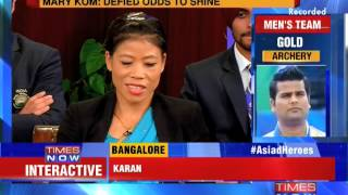 Asiad Heroes On TIMES NOW - Part 2