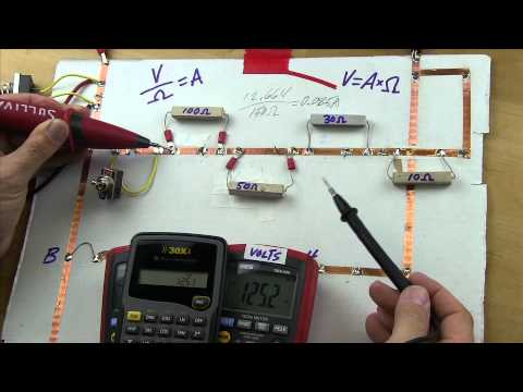 Teaching Ohm's Law To Techs Part 4A - Series Math