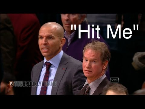 Spill - Jason Kidd tells Tyshawn Taylor to hit him to spill his drink, giving the Nets time to draw up a play with no timeouts left. For More: http://thebrooklyngame...