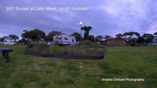 Meningie Australia  city images : Lake Albert Caravan Park, Meningie in South Australia: A 360 Degree Sunset