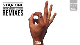 Okay Remixes Out Now:https://starone.lnk.to/OkayRemixesUK 'new age soundsystem' duo, Star.One, present 'Okay' (featuring Maleek Berry & Seyi Shay) their debut single for 3 Beat, the label home of Sigma, High Contrast, Stylo G, and more.The hybrid nature of British music in 2017 owes a lot to the 'DIY' nature and creativity of a newly thriving soundsystem culture in the UK. Right at the vanguard of this nascent resurgence are Star.One, championed by MistaJam, Target, 1Xtra, Noisey, Huw Stephens, Pigeons & Planes, Fact, Phil Taggart, and beyond. Brothers Joe and Adam describe themselves as a 'new age soundsystem', whereby the music they make, and the parties they throw, blur the lines between UK garage, grime, and bass music, while taking influences from the past 50 years of British black music. 'Okay' is a great example of this, merging old school UK garage production with the Nigerian stylings of Afrobeat stars Maleek Berry and Seyi Shay.Star.One began 2017 with the 'Blocks EP'; a three track club-focused release and successor to their 2016 crossover hit, 'Original Badman' (feat. Takura and Assassin) which was A-listed at BBC Radio 1Xtra for the entire summer. These tracks, plus their celebrated 'Elements' mixtape, join collaborations with the likes of P Money, D Double E, G FrSH, MC Creed and Doctor, who featured on their breakthrough track 'Never Give Up'. Armed with an impressive body of work, and now signed to 3 Beat, the pair are ready to make good on their early promise as they look towards their debut album.Festival highlights for Star.One this summer include Glastonbury (RumShack and GarageGirls shows), Parklife, Strawberries and Creem, Kendall Calling, Boardmasters, Boomtown, Reading & Leeds, and Bestival.