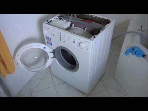 Waschmaschine stinkt beim Wasserziehen nach sch....