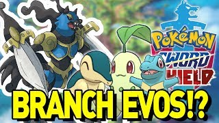 NEW SWORD AND SHIELD RUMOR! Branch Evolution, Evil Team and Johto Starters! by aDrive