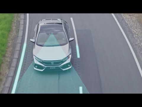 Honda SENSING - systémy pro udržování v jízdním pruhu a zmírnění následků nehodyHonda SENSING - systémy pro udržování v jízdním pruhu a zmírnění následků nehody