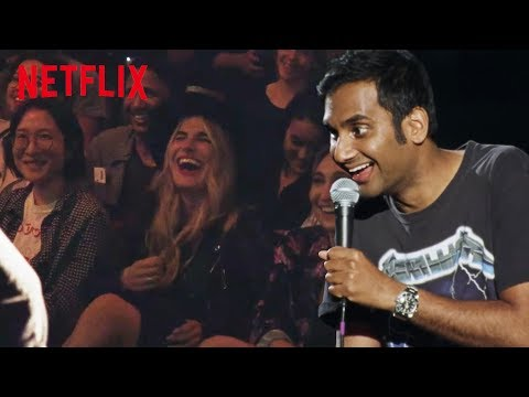 Clip from Aziz Ansari's new speical Right Now : Video 2019 :     Chortle : The UK Comedy Guide