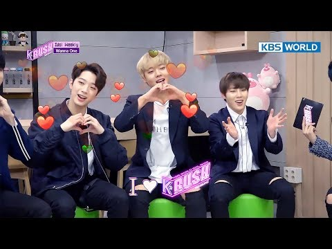 Today's GUEST : WANNA ONE_Part.2, N.Flying [KBS World Idol Show K-RUSH2 2017.12.15] (видео)