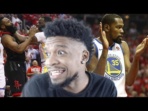 DAMN WARRIORS IN FOUR!?! ROCKETS vs WARRIORS GAME 1 HIGHLIGHTS